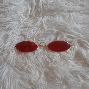 Accessories - Red sunglasses - great condition